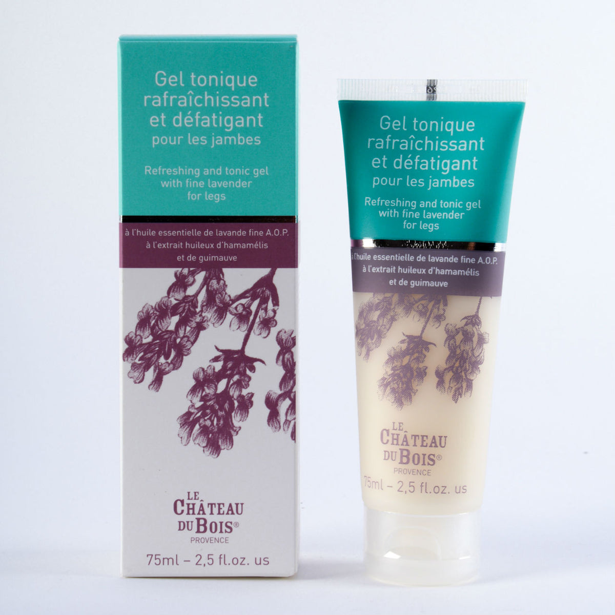 Refreshing and Tonic Gel with Fine Lavender for Legs 75ml