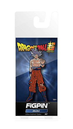 Dragon Ball Super FiGPiN Mini Ultra Instinct Goku #M7