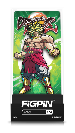 Dragon Ball FighterZ FiGPiN Broly Collector Case #174