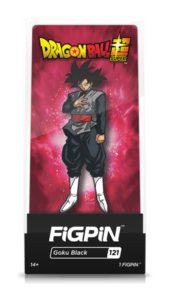 Dragon Ball Super FiGPiN Goku Black Collector Case #121