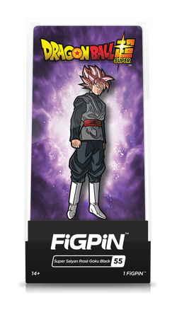 Dragon Ball Super FiGPiN Super Saiyan Rose Goku Black Collector Case #55