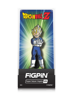Dragon Ball Z FiGPiN Super Saiyan Vegeta Collector Case #25