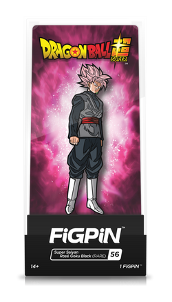 Dragon Ball Z FiGPiN Super Saiyan Rose Goku Black (RARE) #56