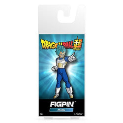Dragon Ball Super FiGPiN Mini Super Saiyan God Super Saiyan Vegeta #M2
