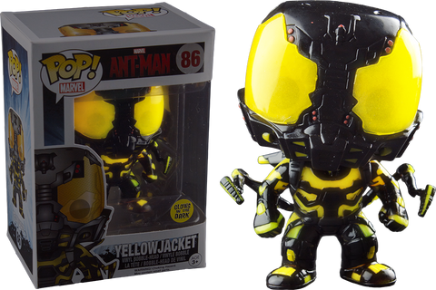 Ant-Man Funko Pop! Yellowjacket (GITD) #86