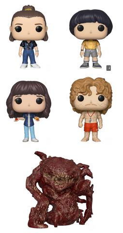 Stranger Things Funko Pop! Complete Set of 5 Season 3 (Pre-Order)