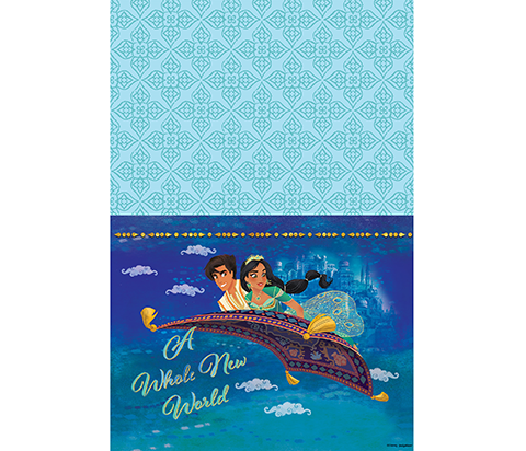 Aladdin Table Cover Paper