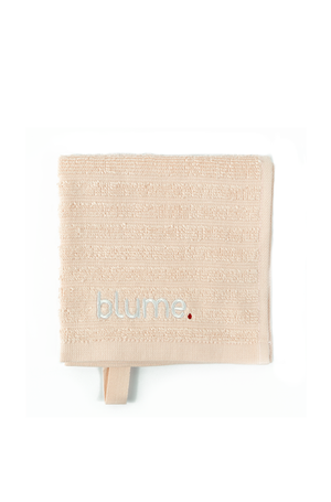 Embroidered Blume Skin face towel