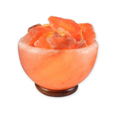 Himalayan Crystal Salt Fire Bowl Lamp