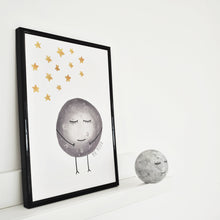 moon print for nurseries