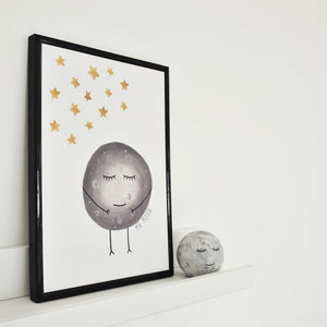 space inspired print for childrens rooms
