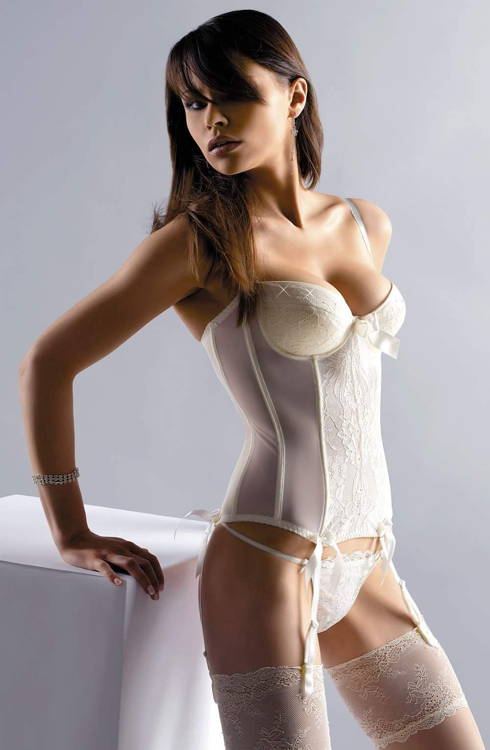 Crystal Basque by Gracya - Gracya - Katys Boutique Lingerie USA