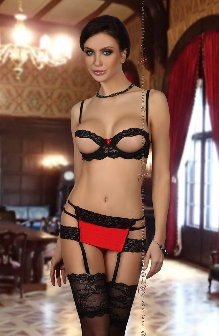 Beauty Night Angelina Set - Beauty Night - Katys Boutique Lingerie USA