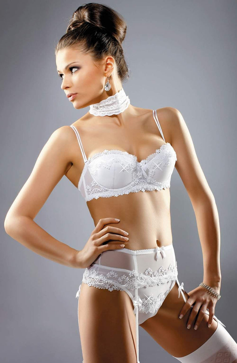 Madonna Balconette Bra by Gracya - Gracya - Katys Boutique Lingerie USA