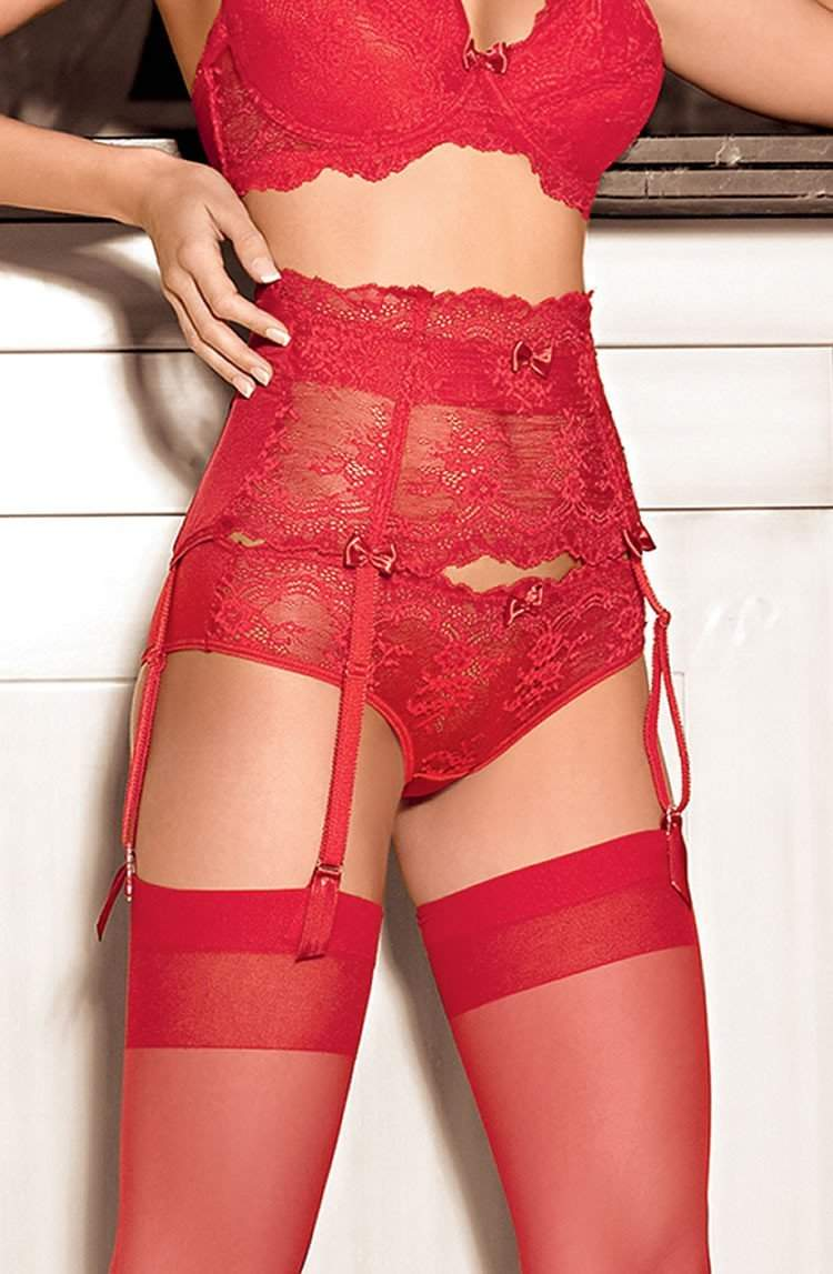 Ambre Brief In Red by Roza - Roza - Katys Boutique Lingerie USA