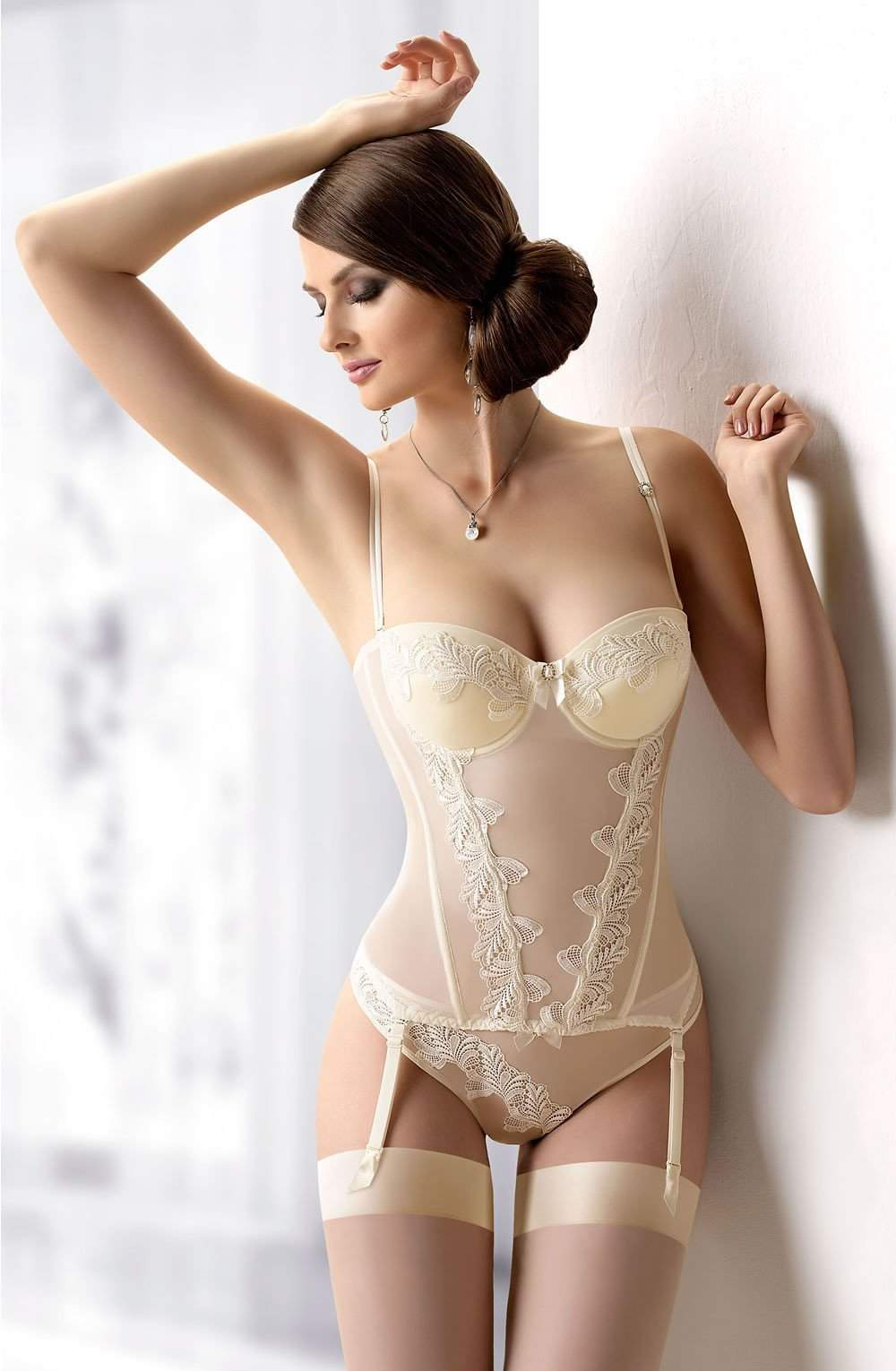 Miette Corset by Gracya Wedding Lingerie - Gracya - Katys Boutique Lingerie USA
