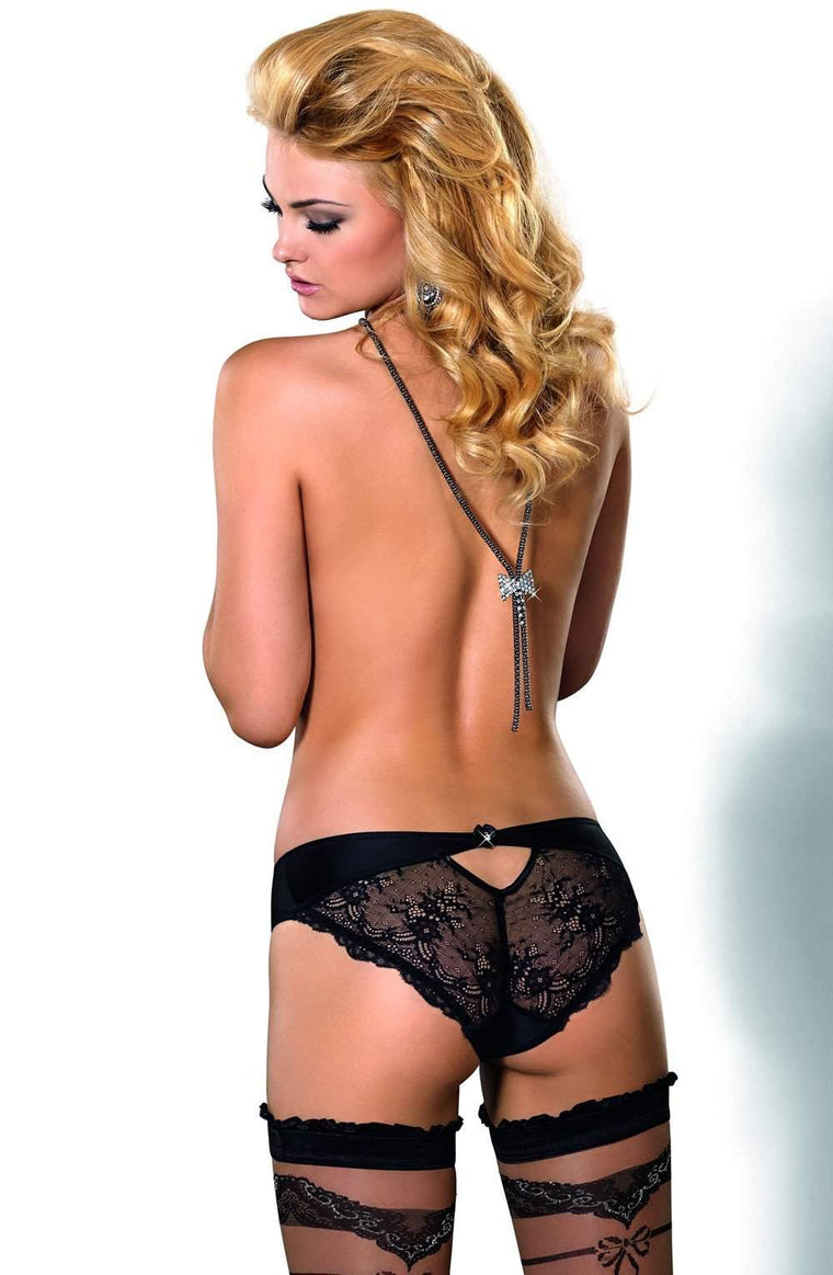 Ali Brief In Black by Roza - Roza - Katys Boutique Lingerie USA