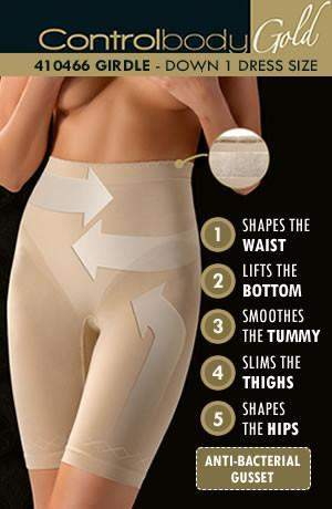 Shaping Girdle - Firm Support by Control Body - Control Body - Katys Boutique Lingerie USA