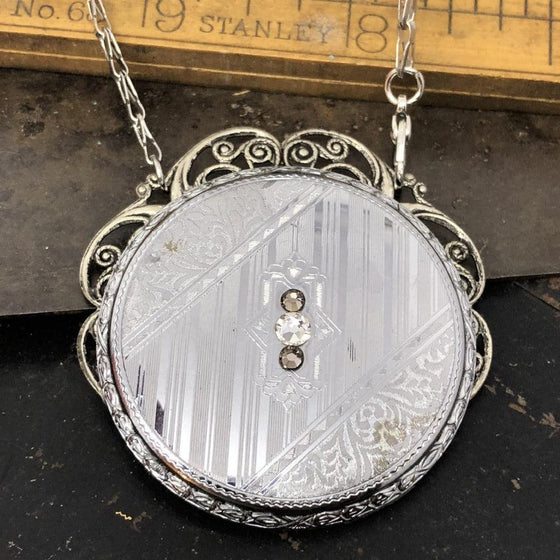 Ada, Pocket Watch Necklace