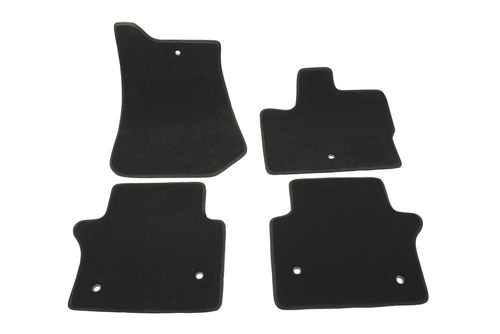 Bearmach Range Rover Sport > 2010 LHD Carpet Black Carpet Mat Set for Land Rover Range Rover | BA 4356