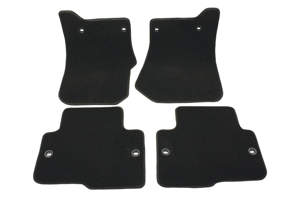 Bearmach Discovery 3 RHD Black Carpet Mat Set for Land Rover Discovery | BA 4362