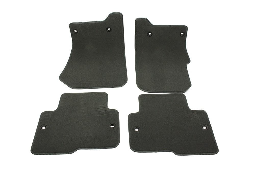 Bearmach Discovery 3 RHD Mid Grey Carpet Mat Set for Land Rover Discovery | BA 4363