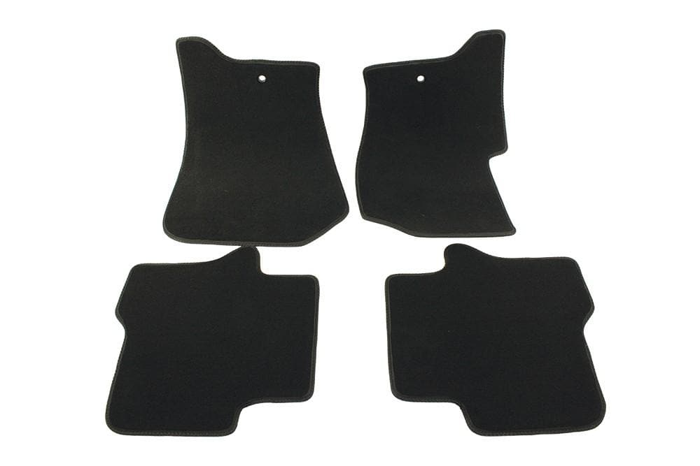 Bearmach Discovery 4 LHD Black Carpet Mat Set for Land Rover Discovery | BA 4368