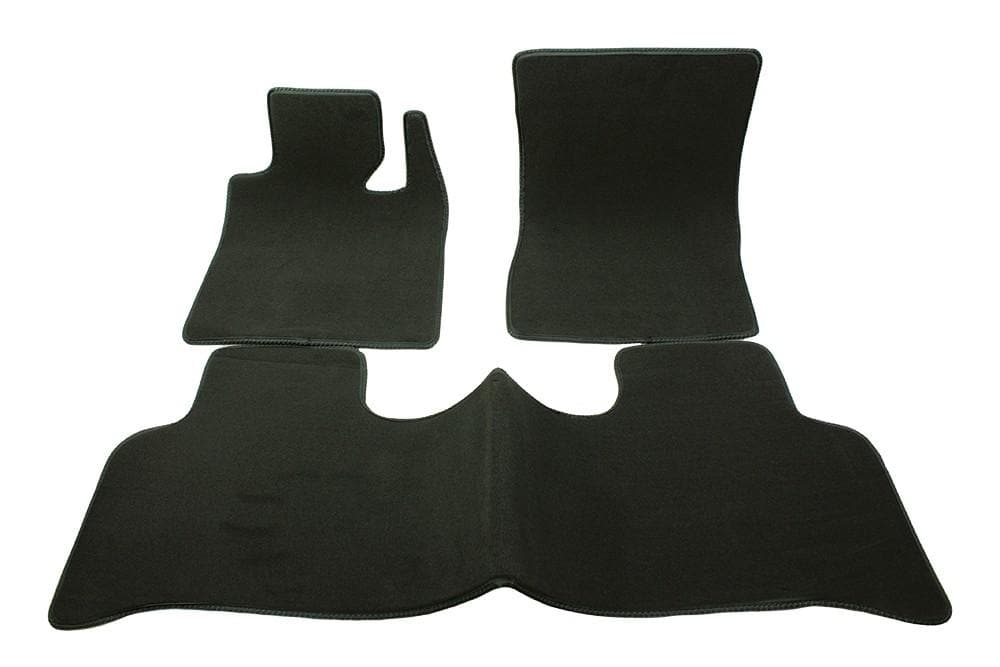 Bearmach Range Rover L322 RHD Mid Grey Carpet Mat Set for Land Rover Range Rover | BA 4371