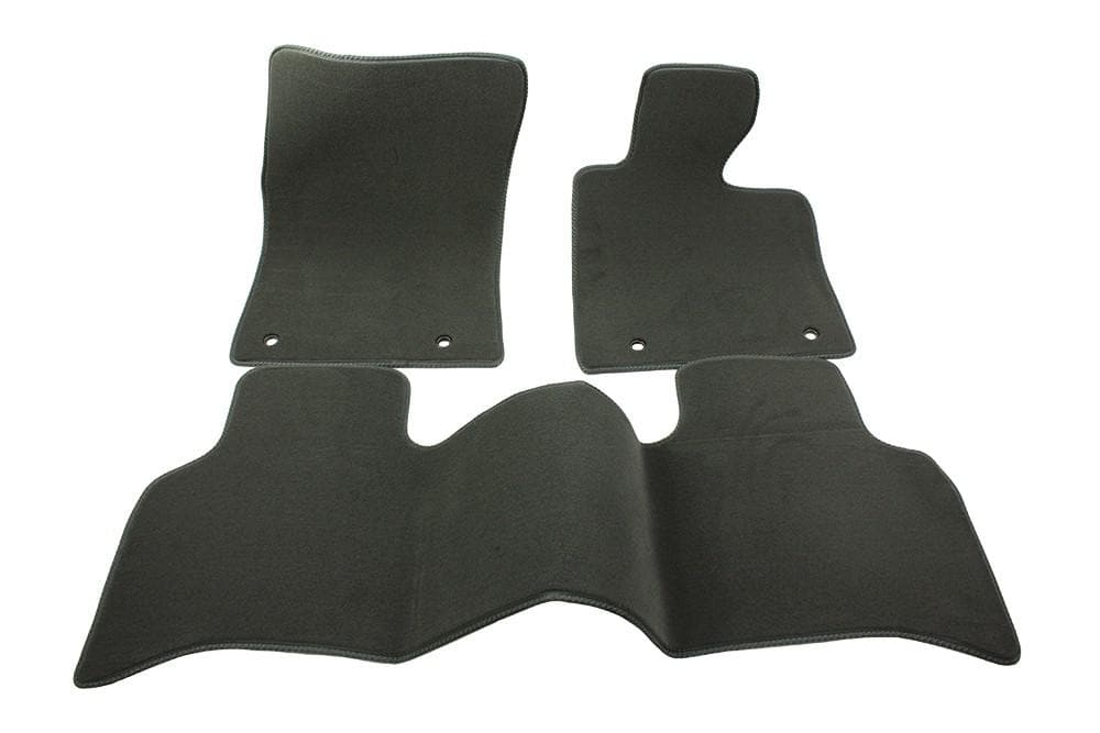 Bearmach Range Rover L405 RHD Mid Grey Carpet Mat Set for Land Rover Range Rover | BA 4375