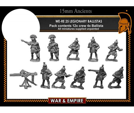 WE-RE25 Legionary ballistas