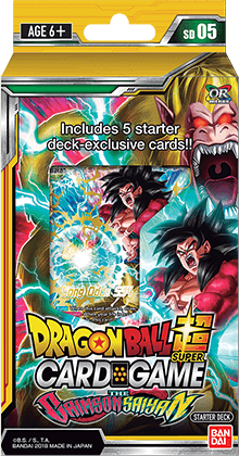 Dragon Ball Super Card Game Starter Deck - The CRIMSON SAIYAN