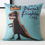 Graffiti Cotton Decorative Pillow Cover,Home Decorators,[tags] - DeliteShopping