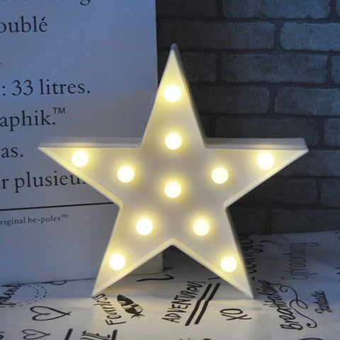 Lovely Cloud Star Moon LED 3D Night Light Baby Kids Bedroom,Home Decorators,[tags] - DeliteShopping