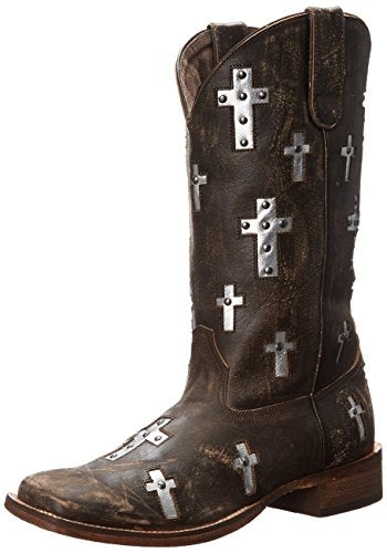 Roper Women's Cross Western Boot