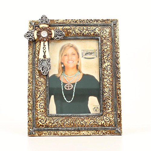 Western Moments Unisex Love Cross Photo Frame Multi One Size