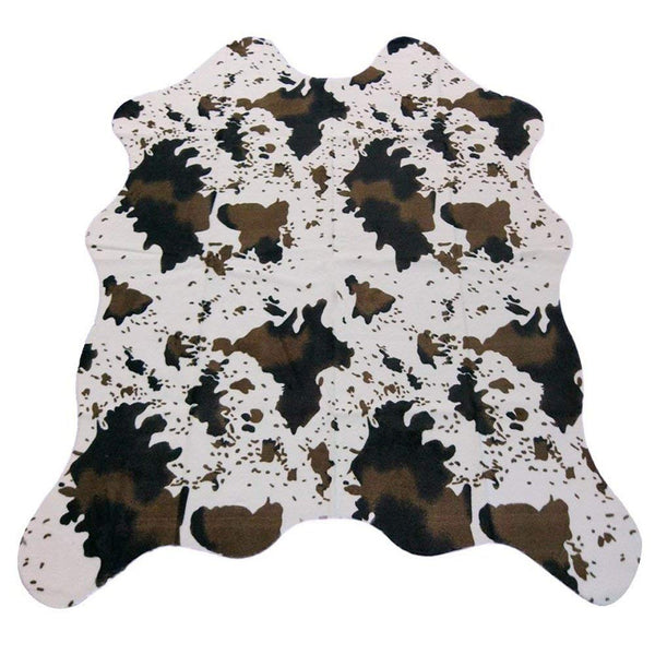 "MustHome Cute Cow Print Rug 29.5""Wx43.3""L Fun Rug Nice for Decorating Kids Room/Under Coffee Table/Cowboy-themed Nursery/Jungle Themed Room/Playroom"