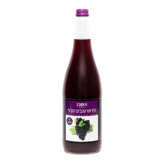 ZION RED GRAPE JUICE
