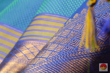 Arai Madam Handwoven Pure Silk Kanjivaram Saree - Pure Zari - PV 3446 Archives
