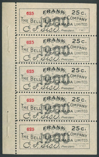 0118BT1907 - TBT4 - Mint Booklet Pane