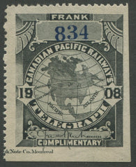 0021CP1907 - TCP21a - Mint, Watermarked