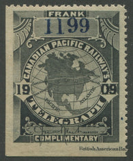 0022CP1907 - TCP22a - Mint, Watermarked