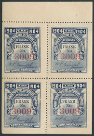 0064GN1907 - TGN15 - Mint Booklet Pane