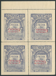 0068GN1907 - TGN19 - Mint Booklet Pane