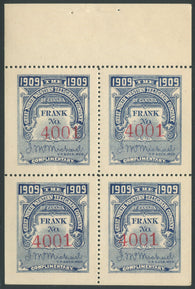 0069GN1907 - TGN20 - Mint Booklet Pane