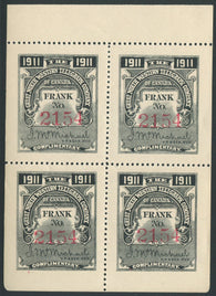 0071GN1907 - TGN22 - Mint Booklet Pane