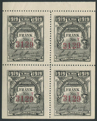 0079GN1907 - TGN30 - Mint Booklet Pane