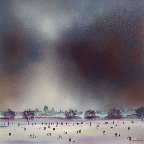 City Sky Original by Adam Barsby *SOLD*