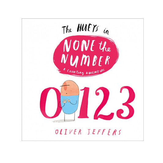 The Hueys - None the Number Book | Dapper Mr Bear