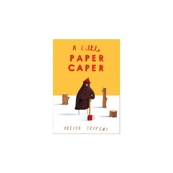 The Little Paper Caper - Oliver Jeffers - Dapper Mr Bear - www.dappermrbear.com - NZ