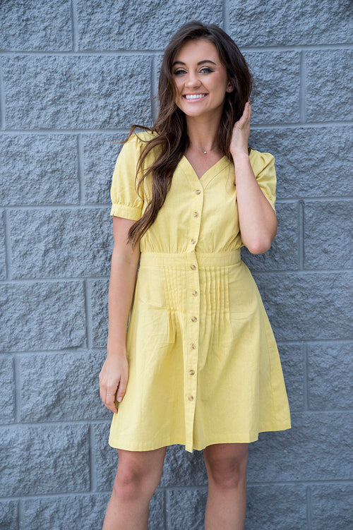 Lorainne Button Up Dress
